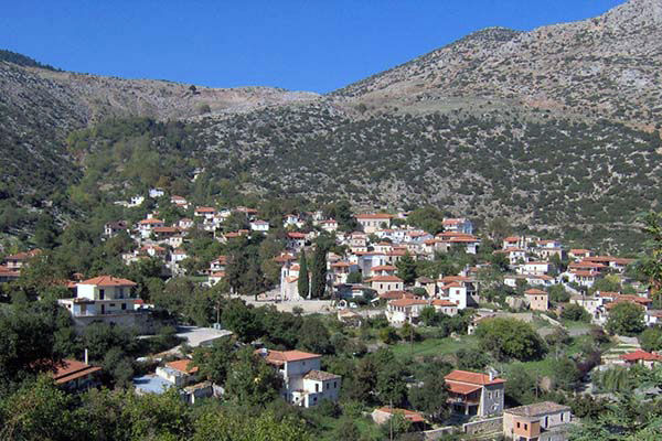 The village of Karya